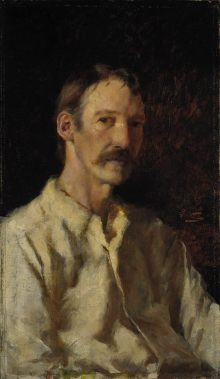 Robert Louis Stevenson, by Nerli