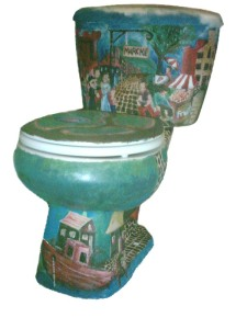 Toilet Art from Jacob Earl