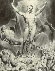 William Blake\'s Satan arousing the fallen angels