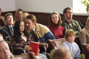 Lars and Love Interest in Church