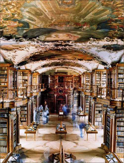 Abbey Library St. Gallen, Switzerland